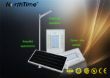 18W IP65 Solar Panel Integrated PIR Sensor LED Street Light