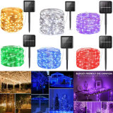 8 Modes 100LED 200LED 300LED 400LED Garden Outdoor Holiday Christmas Decoration Light Party Garland LED Solar String Lamp
