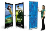 Customed Design Printed Indoor Outdoor Retractable Roll up Portable Pull up Banner Stand