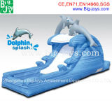 Inflatable Dolphin Water Slides, CE Certificate Juegos Inflatable (BJ-WB18)