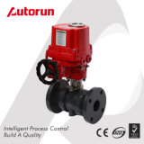 Chinese Wenzhou Manufacturer PVC Flanged Ends Explosion Proof Electric Ball Valve