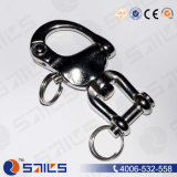 SS316 Sailing Fixed Jaw End Snap Shackle