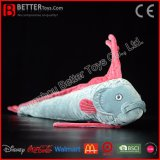 Soft Streamer Fish Stuffed King of Herrings Plush Ribbonfish Lifelike Giant Oarfish Toy