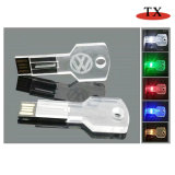 New Style LED Crystal Custom Logo USB USB Flash Disk
