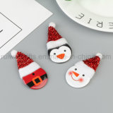 Christmas Pin Badge, Cute Promotion Printing Badge Pin for Christmas Decoration