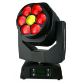 Gbr 7PCS 15W 4in1 LED Disco Sharpy Beam Light Zoom Moving Head Bee Eye
