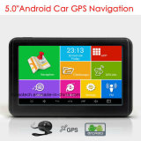 "Hot 5.0"" IPS Mini Android 6.0 Handheld Car Truck Marine GPS Navigation with Quad Core GPS Satnav 800 MHz CPU, FM Transmitter, GPS Navigation System,Tracker,Wif"