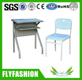 Hot Sale School Furniture Classroom Student Desk and Chair (SF-59S)