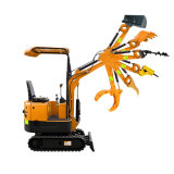 0.8 Ton 1ton Upto 2 Ton New China Small Hydraulic Bucket Crawler Mini Bagger Excavator with Cheap Factory Price