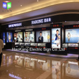 Magnetic Aluminum Picture Frame with Shopping Mall Watch Advertising Display Billboard