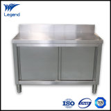 Perfect Stainless Steel Cabinets with Sliding Doors