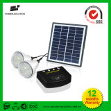 Portable Two Bulbs Home Lighting Solar System