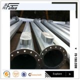 Galvanized High Mast Pole with 25m for 600W LED