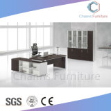 Fashion Furniture Modern Office Table with Side Desk (CAS-MD1828)