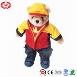 Post Office DHL Courier Guy Toy Teddy Shape Bear