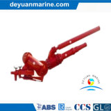 Marine Fire Monitor with Adjustment by Electric Motor