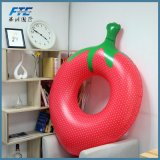 Outlife Strawberry Inflatable Water Floats Swimming Ring Pool
