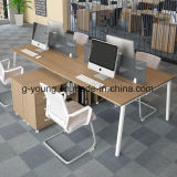 Simple Design Wholesale Wood&Metal Office Furniture Table Workstation