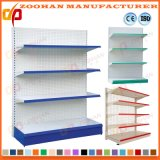Ce Proved Metal Single Sided Supermarket Storage Shelving Shelf (Zhs124)