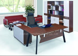 High Quality Wooden Manager Office Table Design (HF-B268)