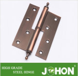 Steel or Iron Furniture Hardware Fasterner H Hinge (100/120/140/160X76mm)