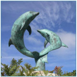 Bronze Dolphin Statues for Sale