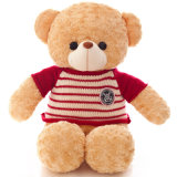 Soft Short Pile Custom Wholesale Plush Bear Toy Made in China