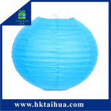 Hot Sale Cheap Various Colour Chinese Round Paper Lantern for Wedding Party Decoration