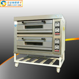 Ce Approved Bakery Equipment Wholesale Double Decks Electric Pizza Oven
