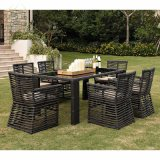 Outdoor Garden Furniture Hotel Dining Set Table and Chair Rattan Furniture