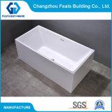 Competitive Price Sanitary Ware Freestanding Jacuzzi Acrylic Bath Tub Acrylic Bathtub Bathroom Hot Tub Bathroom Shower Room #S028
