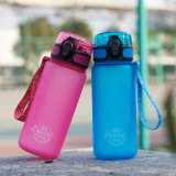 400ml BPA Free Portable Rope Plastic Kettle Children′s Tritan Space Juice My Water Bottle Pop-up Lid