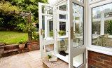 Alibaba Hot Aluminum Frame Door Bathroom Casement Door Cheap Glass Door