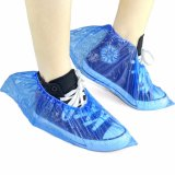 Wholesale Cheap Disposable PE Plastic Shoe Cover Waterproof and Durable with Elastic