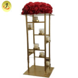 Wholesale Wedding Gold Candle Holders/ Home Decoration Crystal Candle Holders