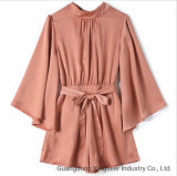 Fashion Ladies Clothes Flower Printing Sexy Strapless Party Polyester Women Maxi Evening Cocktail Mature Woman Dress