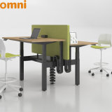Double Sides Electric Height Adjustable Desk