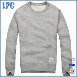 Mens Cashmere Round-Neck Sweatshirt with Long Sleeve