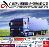 Inland Trucking Price for Bluetooth Speaker From China to Cambodia /Myanmar/Laos/Vietnam/Thailand