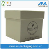Square Custom Two Pieces Candle Packaging Box with Lid and Base