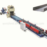 Full Automatic Adjustable Steel Cable Tray/Pallet/Upright/Metal/Roof/Roofing/Tile/Floor Deck/Guardrail Roll/Rolling/Roller Forming Machine