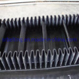 Nn500 Corrugated Cleated Sidewall Conveyor Belt for Industrial Chain
