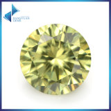 Loose Colored Stone Light Olive Loose CZ Zirconia Stone