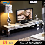Modern Marble Surface Wooden MDF TV Table
