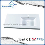 White Color Popular High Quality Polymarble Basin