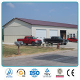 Low Price Sandwich Panel Steel Structure Car Storage