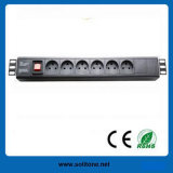Denmark Plug Socket 6-Way PDU