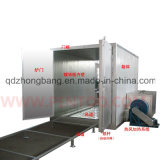 High Quality Electrical Curing Oven with Overhead Conveyor