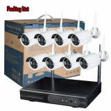 1.3MP Wireless Outdoor Security IP Camera Kits Wholesale WiFi Camera with Complete Systems