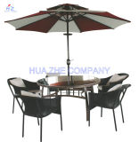 3m Double Roof Round Umbrella Outdoor Parasol